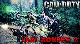 COD Nazi Zombies in Real Life - YouTube