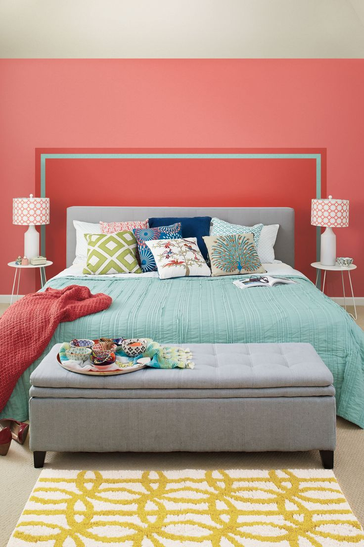 25 best ideas about painted headboards on pinterest for Painted on headboard
