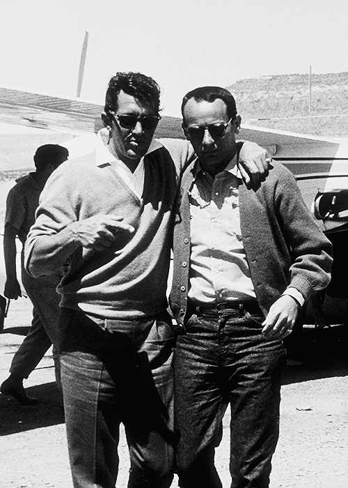 dean martin #joey bishop - Many people forget that Joey Bishop was part of The Rat Pack group-- was the humorist, the funny man & organizer. MR