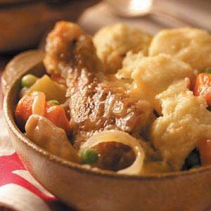 Sunday Slow Cooker Chicken Stew Recipe _ I love this recipe because I can prepare the veggies the night before and, in the morning, brown the chicken and assemble everything in the slow cooker before I go to church. I can spend time with my family while Sunday dinner cooks.
