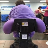 Does this seat make my butt look fat?!!!!