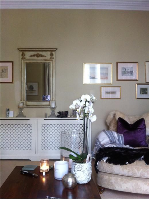 An inspirational image from Farrow and Ball- Cord paint