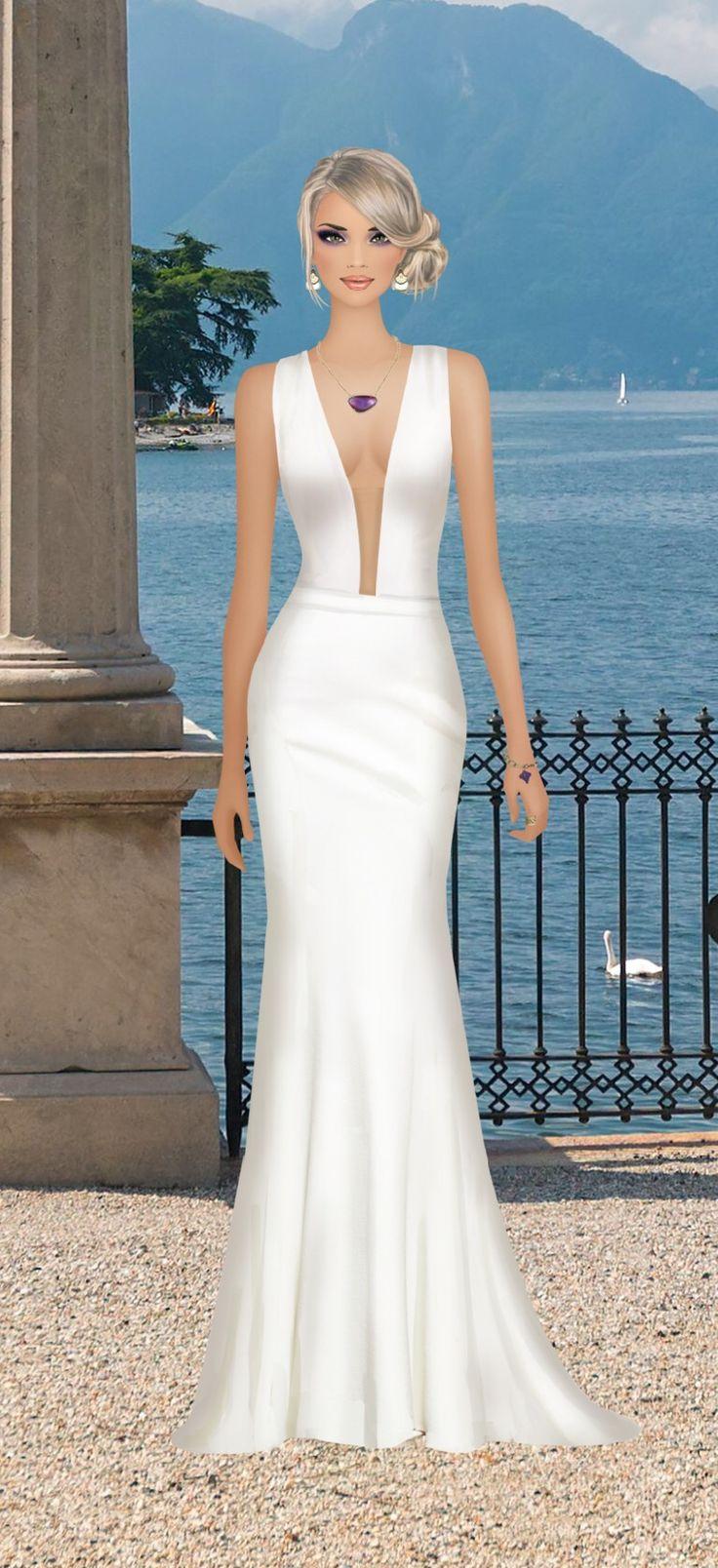 6569 mejores imágenes de vestidos largos y de noche en Pinterest ...