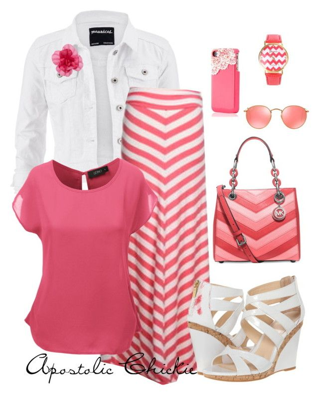 Chiffon & Chevron by apostolicchickie on Polyvore