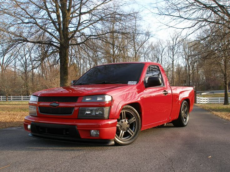 Lowered Chevy Colorado