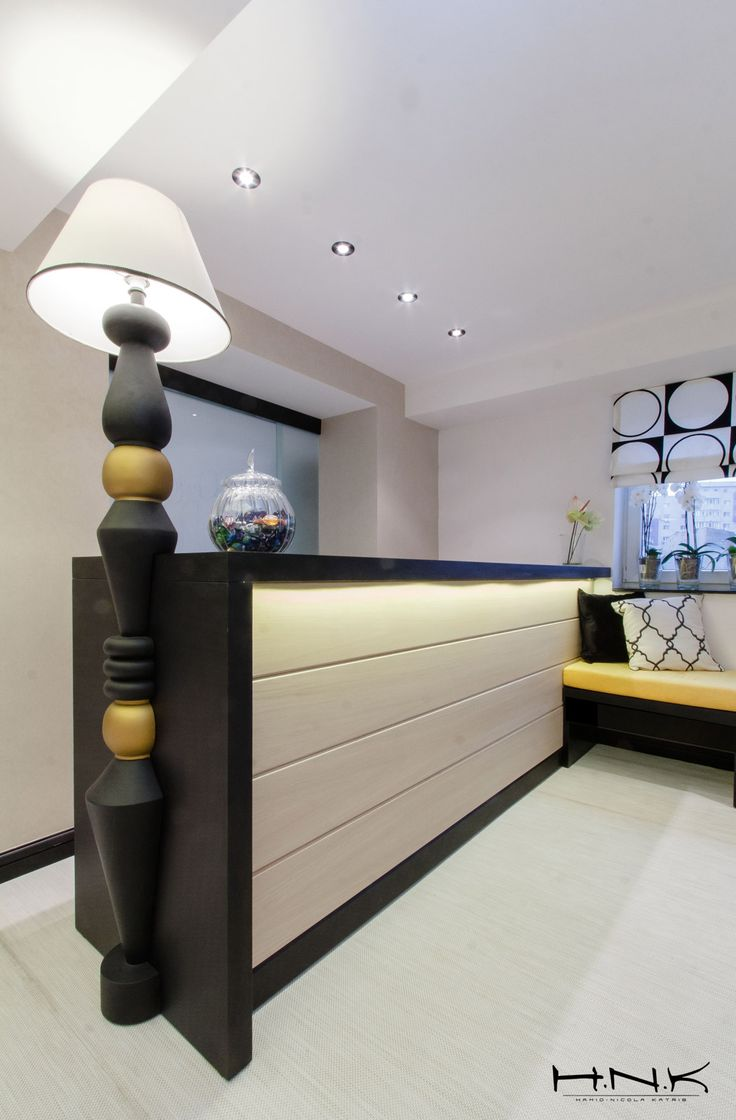 How should a reception desk look for a notary office | by Hamid Nicola Katrib