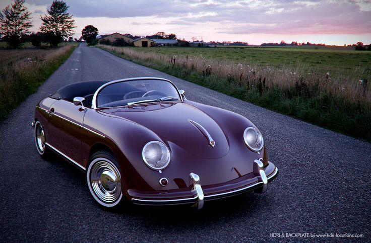 Porsche 356. [but modernized] #mybucketlist