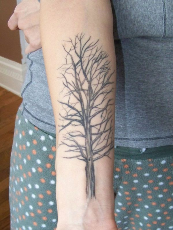 Tree Tattoo Designs for Arm for Women