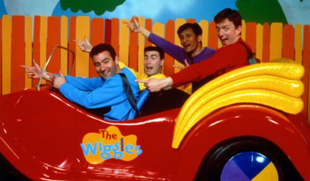 You wanted to kick out the other Wiggles and jump in that big red car and drive off into the sunset with him. | For Everyone Who Had A Crush On The Blue Wiggle Growing Up