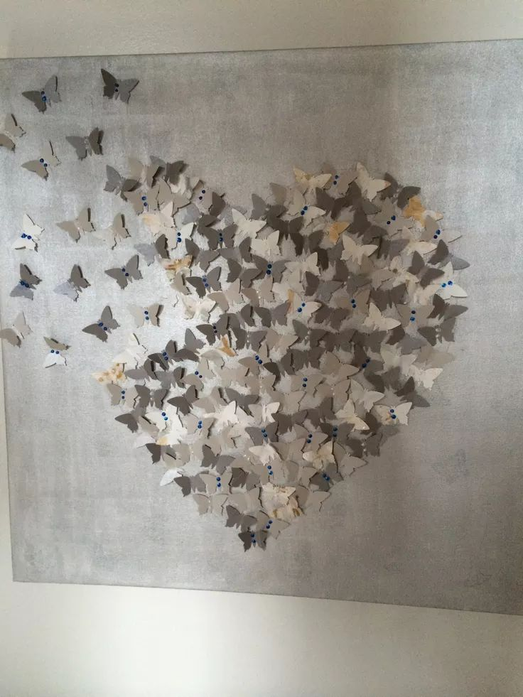 Heart Wall Art best 25+ butterfly wall art ideas on pinterest | 3d butterfly wall