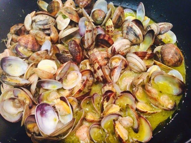 Comida Italiana ..por italianos: Sautè di vongole (de almejas)
