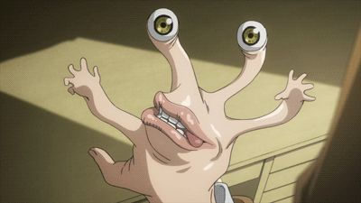 So, migi is made out of silly putty right? Kiseijuu: Sei no Kakuritsu (Parasyte -the maximum-)