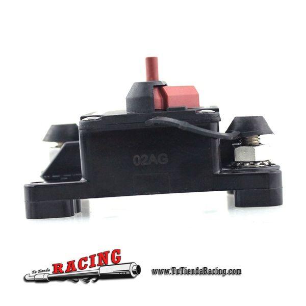 20,26€ - ENVÍO SIEMPRE GRATUITO - Fusible con Desconectador de Batería Rally Coche Tuning Racing 100A Resistente al Agua Color Negro - TUTIENDARACING