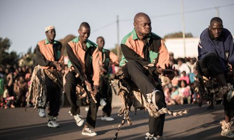 The Top Ten Dance, where Nozinja is recruiting dancers for Shangaan's UK tour