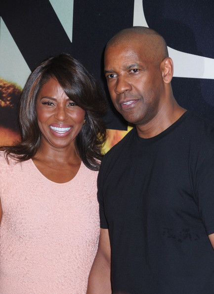 Pauletta Washington and Denzel Washington attend the '2 Guns' premiere at SVA Theater in New York City. July 2013