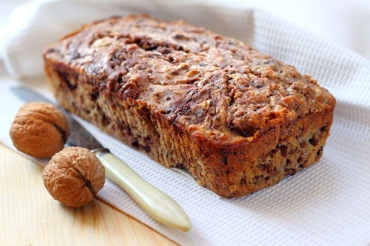Facebook Pinterest Print EmailPrøv dette lækre sunde bananbrød. Skær et par skriver og servér med smør. Ingredienser: 3 modne bananer (ca. 300 gram) 2 spsk kokosolie 1 tsk vaniljepulver 2 æg 1 tsk bagepulver 1 tsk kanel 50 g valnødder…