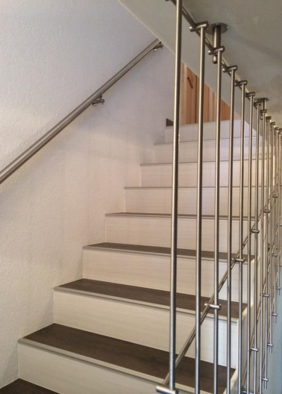 Maytop tiptop habitat habillage d escalier r novation for Main courante escalier originale