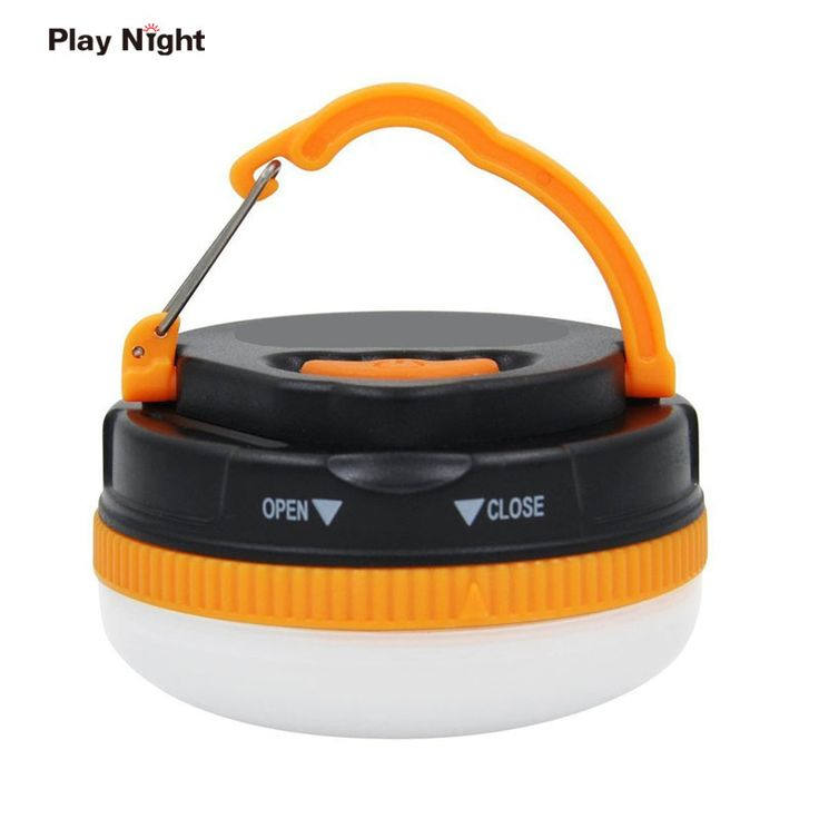 PLAY NIGHT Waterproof Magnetic Camping SMD Light Portable Tent Umbrella Night Lamp Hiking  Lantern Household Emergency Lights  #Affiliate