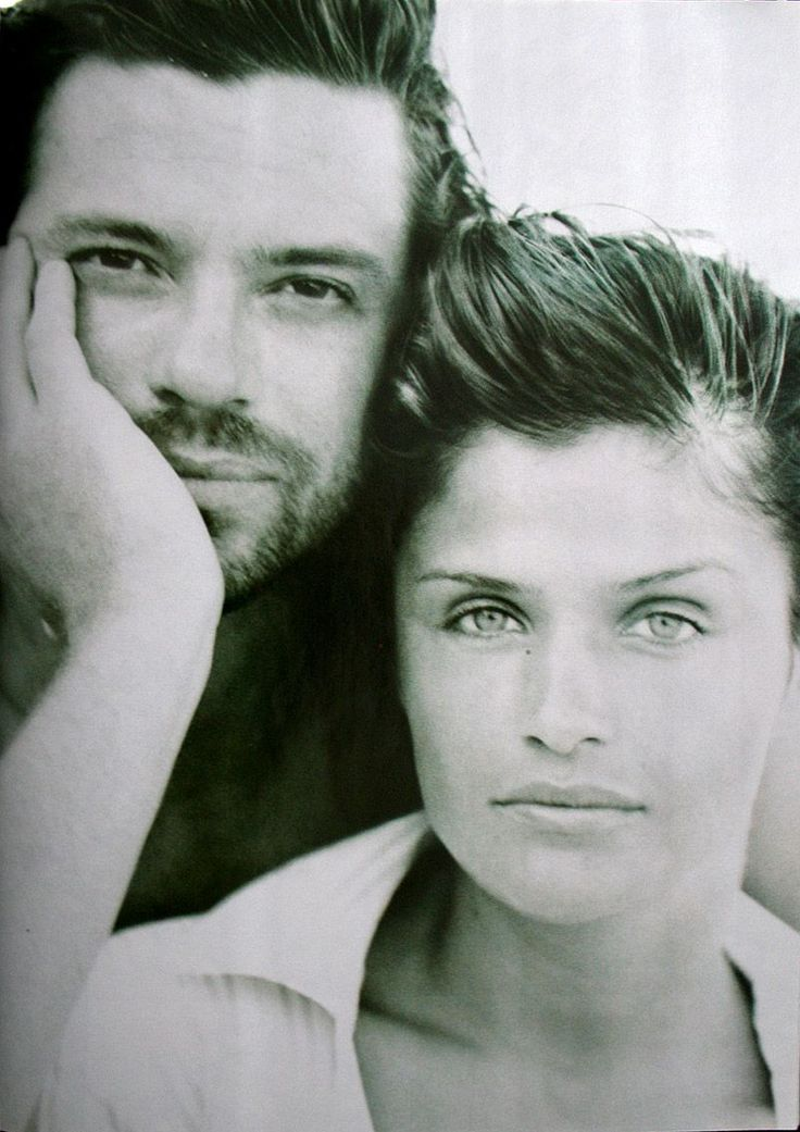 Michael Hutchence and Helena Christiansen - 2 of the most beautiful people...ever.