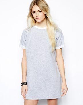 Daisy Street Sweater Dress with Turn Back Sleeve