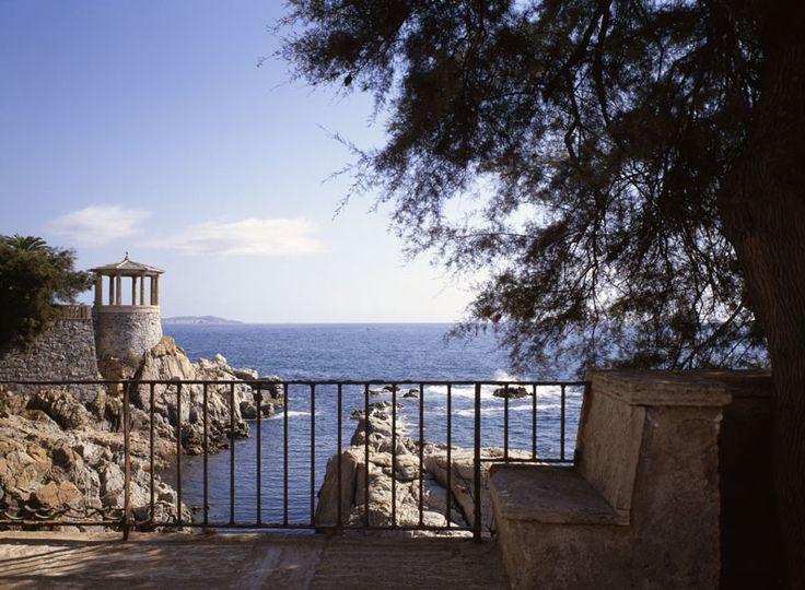 S'Agaró, Baix Empordà, Catalunya. Hotel, descanso, vacaciones, turismo, romanticismo, costa, mar, playa, paseo.