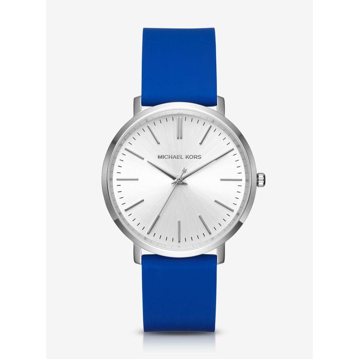 Michael Kors Jaryn Silicone Ladies Watch MK2535
