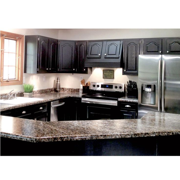 DIY 'Granite' Countertops for your Home or RV Kitchen