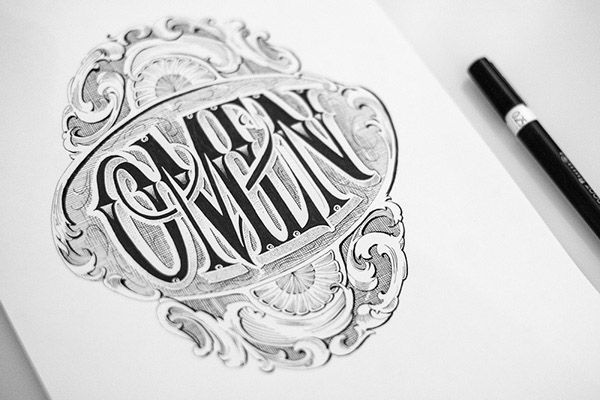 D Line Drawings Quote : Image grey typography pinterest