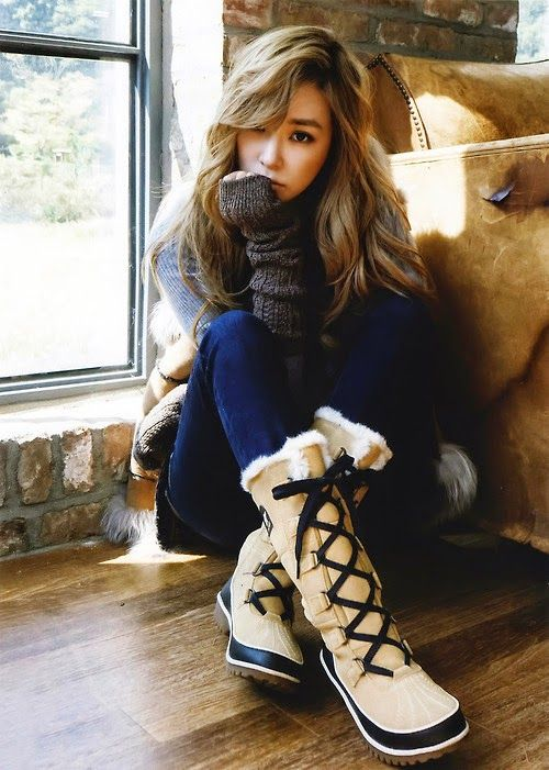 Tiffany Hwang SNSD Girls' Generation Elle Magazine November 2014