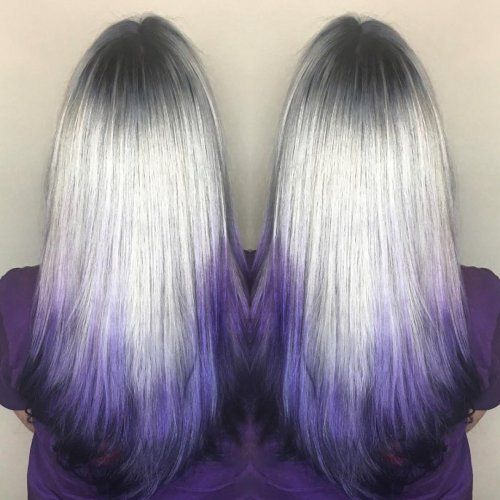 Reverse Ombre Hair Color