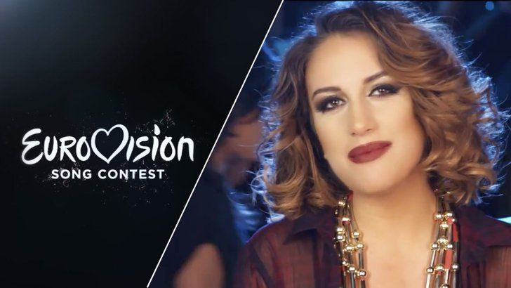 """Pin for Later: Listen to Every Single Song From the 2015 Eurovision Song Contest Albania Elhaida Dani — """"I'm Alive"""""""