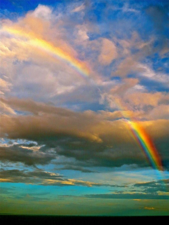 Rainbow   Beautiful--Reminder of God's promise