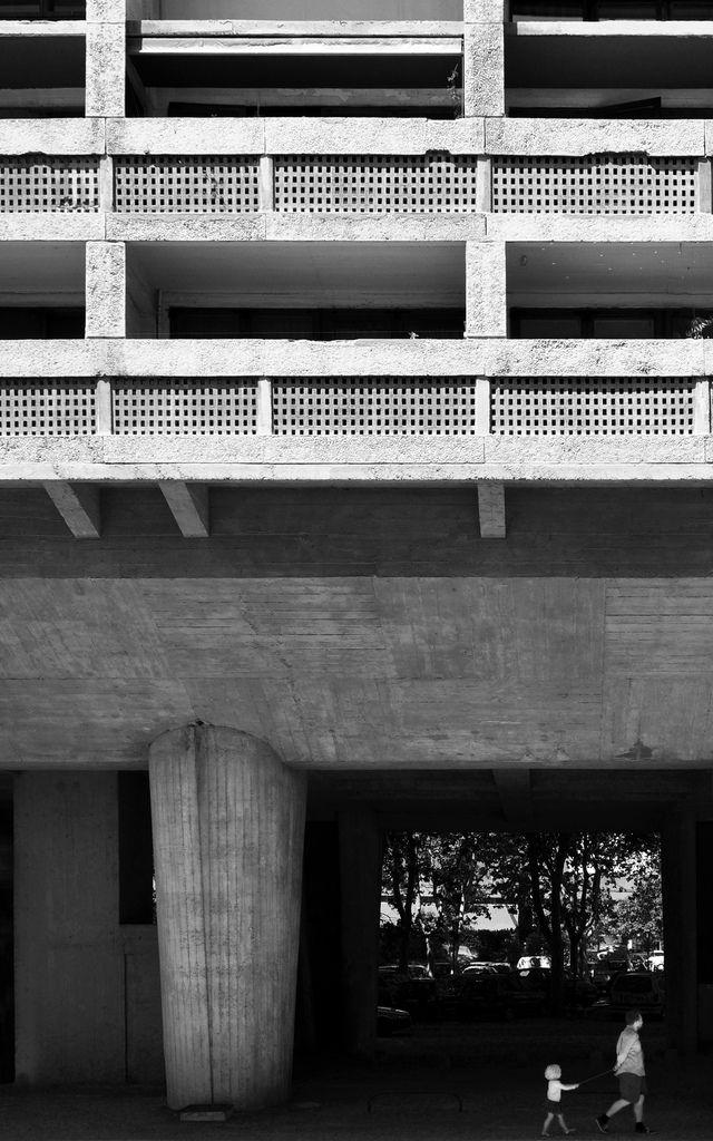 Unité d'Habitation / Le Corbusier | Pinterest | Architecture