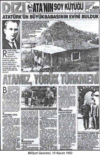 ATATÜRK'ÜN SOYU…   TARİH TÜRKLERDE BAŞLAR...