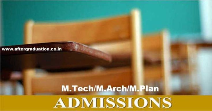 CCMT 2018- Centralized Counselling For M.Tech/M.Arch/M.Plan Admissions In NITs, CFTIs