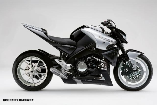 New design of B-King? It seems that Suzuki realized what good design is!