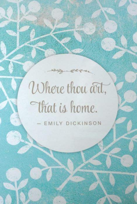The Nesting Place.Nests Places, Moving New Home Quote