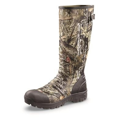 Guide Gear Men's Ankle Fit Insulated Rubber Boots, 800 Gram - 292566, Rubber & Rain Boots at Sportsman's Guide