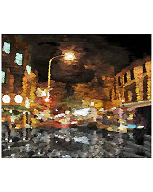 """""""Abstract Cityscape"""", $139.90"""