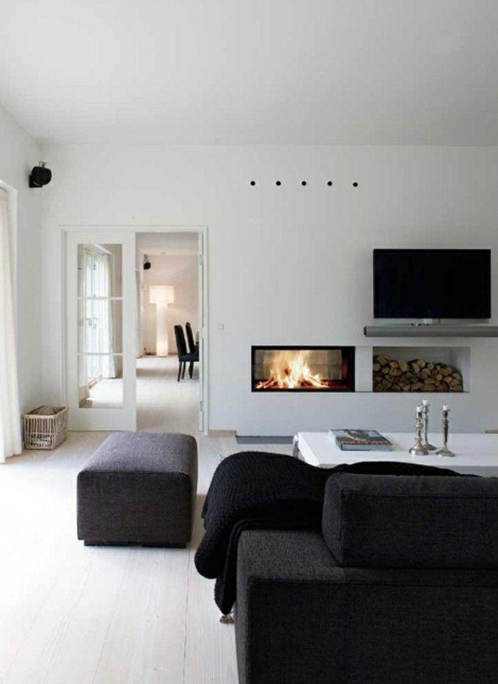 Modern Kamin im wohnzimmer ideen WOHNIDEEN Pinterest - möbel wohnzimmer modern