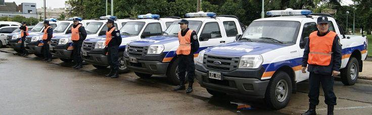 Ford Ranger . Policia de la Provincia de Buenos Aires.