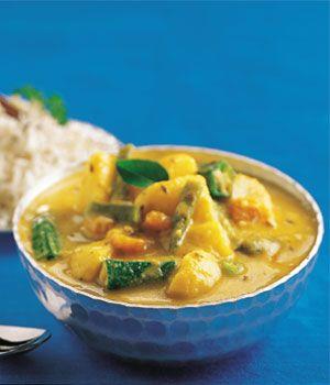 Sindhi Karhi Recipe - Pakistani Main Course Vegetarian Dish - Fauzia's Pakistani Recipes - The Extraordinary Taste Of Pakistan