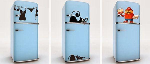 Απίστευτα αυτοκόλλητα ψυγείου και ιδέες για να μεταμορφώσεις δημιουργικά τις λευκές συσκευές σου!