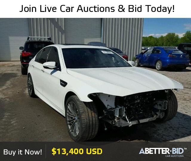 Salvage  2013 BMW M5 for Sale - WBSFV9C57DC773164 - https://abetter.bid/en/31164557-2013-bmw-m5