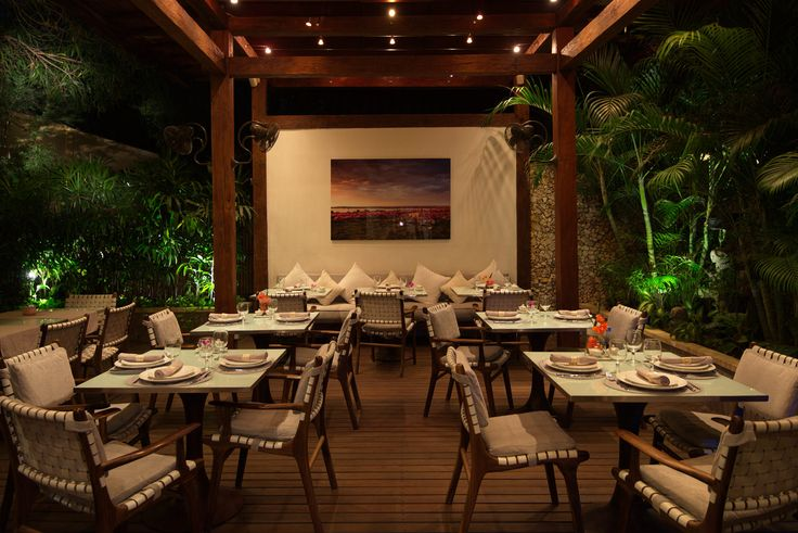 The Oasis Restaurant at Villa Kubu, Seminyak, Bali