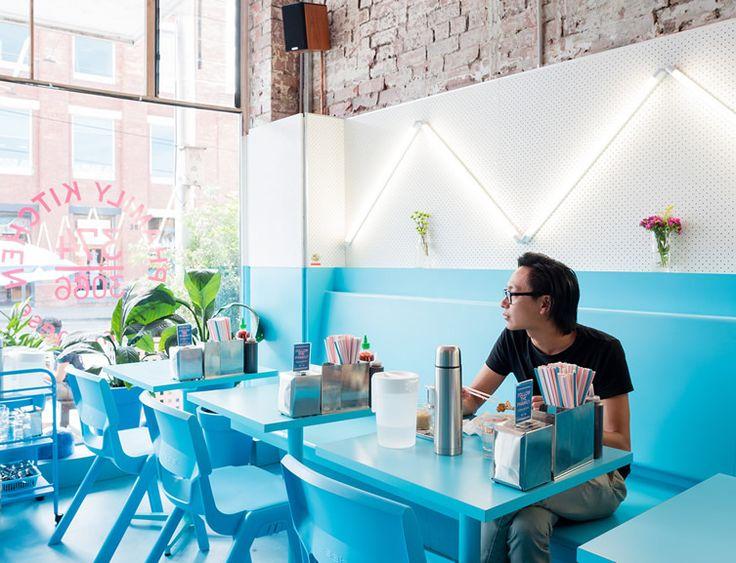 Dive Into A Menu Of Updated Vietnamese Classics At Melbournes Colourful Phamily Kitchen Restaurant LayoutRestaurant InteriorsRestaurant DesignVietnamese