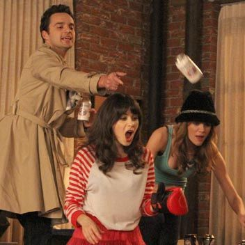 New Girl drinking game True American!  It's about time this surfaced!