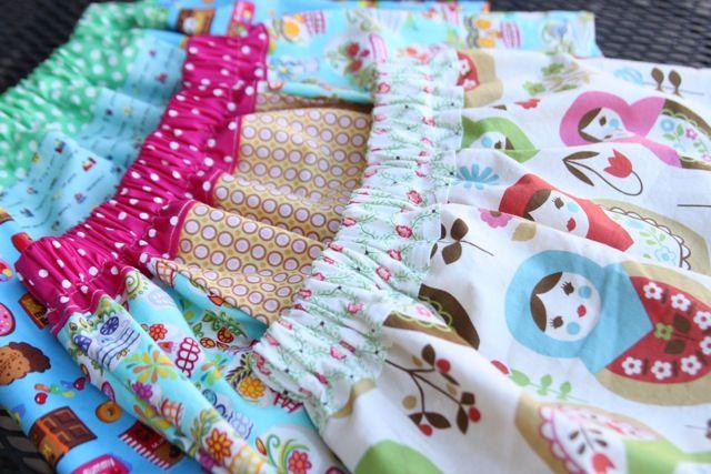 Apron Skirt Pattern 74