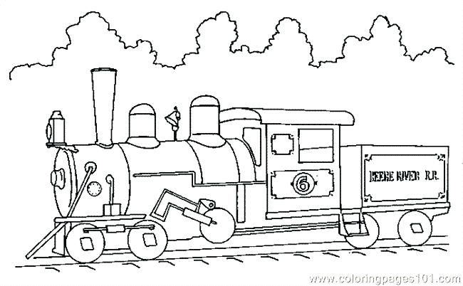 Train Coloring Pages To Print Train Coloring Pages To Print Free