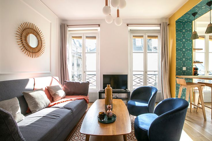 location studio meublé rue du temple